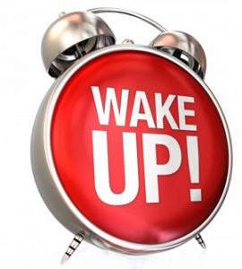 image wake up call